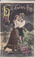 AK Hab Ich Nur Deine Liebe - Zwei Verliebte Frauen -  Halle 1903 (44228) - Paare