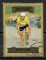 EAU - Manama 1972 Y&T N°83-15 - Michel N°1177 (o) - 15r Coppi - Manama