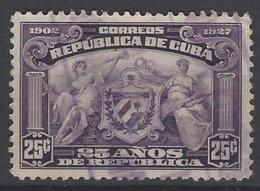 Cuba  U 190 (o) Usado. 1927 - Cuba