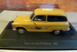 SIMCA ARONDE P 60 RANCH 1962 MUSEE  DE LA POSTE ECHELLE 1/43 VEHICULES POSTAUX - Voitures, Camions, Bus