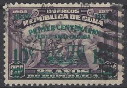 Cuba  U  254 (o) Usado. 1937 - Usados