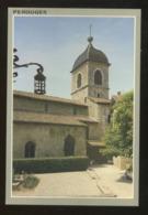 Pérouges (01) : L'église De La Cité Médiévale - Pérouges