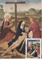 Carte Maximum Peinture Haute-Volta Dirk Bouts - Obervolta (1958-1984)