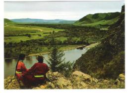 Mongolia - River Gol - Landscape - Mongolia