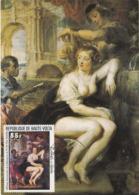 Carte Maximum Peinture Haute-Volta Rubens - Obervolta (1958-1984)