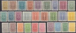 AUSTRIA - OSTERREICH - 1922 - Lotto Composto Da 28 Valori Nuovi MNH: Yvert253/280. - Neufs