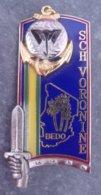 Insigne Sch. Voronine - 169° Promotion École Nationale Des Sous-officiers D'active - ENSOA - Matriculé - TAP - 6° CPIMa - Hueste