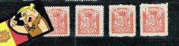 ANDORRA 1932 SET 4V CONSELL DE LES VALLS NE - Andorre Espagnol