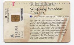 Télécarte Allemande - Wolfgang Amadeus Mozart - 12 DM - Andere