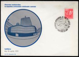 Yugoslavia Slovenia Ljubljana 1978 / Opening Of The Phone Centrale / Telephone - Telecom