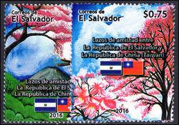 El Salvador 2016 Diplomatic Relations With Taiwan Unmounted Mint. - El Salvador