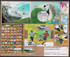 Argentina - 2019 - Lettre - Football - Coupes Du Monde 2002 - 2010 - Divers Timbres - Argentina