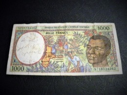 GABON 1000 Francs 1997 , Pick N° 102C D, GABON - Gabon