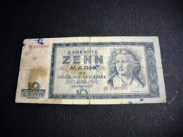 ALLEMAGNE 10 Deutsche Mark 1964, Pick N° 23 , GERMANY RDA DEMOCRATIC REPUBLIC - 10 Deutsche Mark
