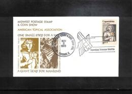USA 1973 Astronomy Nicolaus Copernicus Interesting Cover - Astronomie