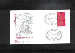Germany / Deutschland 1971 Astronomy Johannes Kepler Interesting Cover - Astronomie