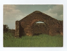 AFRICA POSTCARD ANGOLA THE MOST OLDEST CHURCH TO SOUTHERN ECUADOR LINE - PORTUGAL HISTORY ARCHITECTURE  AFRIQUE AFRIKA - Angola