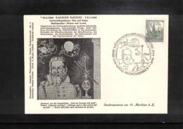 Austria / Oesterreich 1964 Astronomy Galileo Galilei Interesting Cover - Astronomie