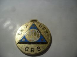 MEDAILLE METAL SNIP Des CRS (POLICE) @ 3,8 Cm - Police