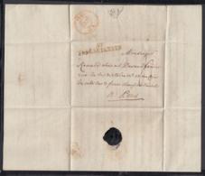France 1805  - Precurseur De Fresnes-sur-Escaut à Paris ...... (VG) DC-4252 - Marcophilie (Lettres)