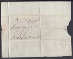 France 1792  - Precurseur De Reims à Valenciennes ...... (VG) DC-4256 - Storia Postale