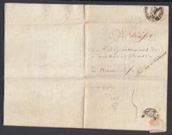 France 1800- Précurseur De Paris à Namur...... (VG) DC-4262 - Poststempel (Briefe)