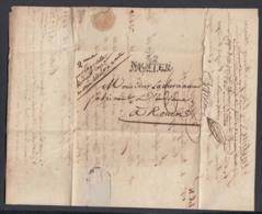 France 1812 - Précurseur De Cayenne (Guyanne Française) à Nantes.. (VG) DC-4271 - Poststempel (Briefe)