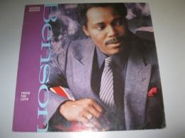 "VINYLE GEORGE BENSON ""TWICE THE LOVE"" 33 T WARNER (1988) - Vinylplaten"