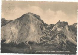 W5217 Sappada Di Cadore (Belluno) - Panorama Col Monte Peralba / Viaggiata 1949 - Italie