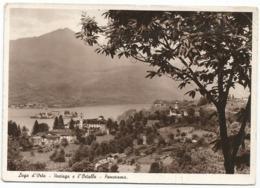 W5225 Lago D'Orta (Novara) - Vaciago E L'Ortallo - Panorama / Viaggiata 1952 - Altre Città
