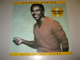"VINYLE GEORGE BENSON ""GIVE ME THE NIGHT"" 33 T WARNER (1980) - Vinyl Records"