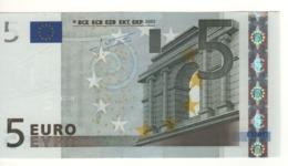 """5 EURO  """"L""""  FINLANDIA     Firma Trichet     E 001 C2   /  FDS - UNC - 5 Euro"""