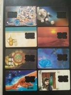 Qatar Telephone Card Old 8 Different - Qatar