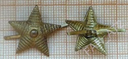 USSR/ Soviet Union / RUSSIA. Soviet Army. Emblem. Star On The Shoulder Straps Of An Officer. - Uniforms