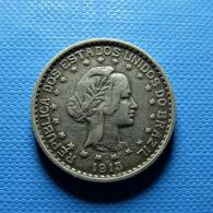 Brazil 500 Reis 1913 A Silver - Brasil