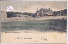 VERVIERS- SOUVENIR DU VELODROME- RARE CARTE COLORISEE - Verviers