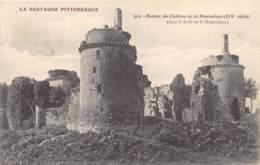 COTES D'ARMOR  22  RUINES DU CHATEAU DE LA HUNAUDAYE - France