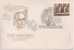 Yugoslavia, I. Andric, Laureate Of Nobel Prize For Literature 1961 - Nobel Prize Laureates