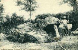 86D15 - LA TRIMOUILLE - Dolmen - La Pierre Soupèze - La Trimouille
