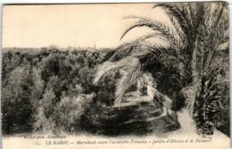 3YR 312 CPA - MARRAKESH AVANT L'OCCUPATION FRANCAISE - JARDINS D'OLIVIERS ET DE PALMIERS - Marrakech