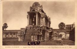 ASIE : Cambodge : Ruines D Angkor édicule Dit Bibliothèque De L Angle Nord Ouest De La Cour Du 1er étage - Cambodge