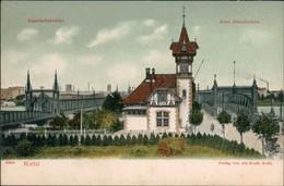 Ansichtskarte Kehl (Rhein) Eisenbahn Brücke & Neue Rhein Brücke 1900 - Kehl