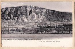 X74156 JULLIEN Editeur-Photographe Genève N°2303 -  COLONGE Et Le SALEVE Haute-Savoie Le Village 1890s - Autres Communes