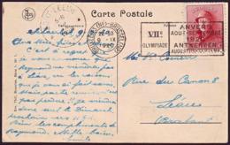 Belgium - 1920 C - Olympic Games 1920 - Postcard - Sommer 1920: Antwerpen