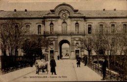 34-MONTPELLIER...CASERNE DU GENIE...CPA ANIMEE - Montpellier