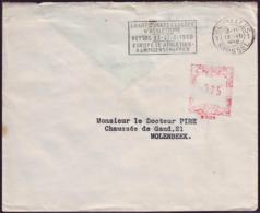 Belgium - 1950 - Athletics Euro Champ - Letter - Athletics