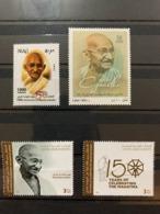 Lebanon Iraq UAE 2019 Stamp Set MNH Gandhi India Anniversary Lot - Libano