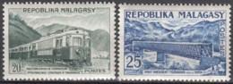 N° 360 Et N° 361 - X X - ( E 1519 ) - Madagaskar (1960-...)