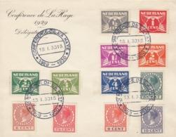 COVER CONFERENCE DE LA HAYE 1929 DELEGATION FRANCAISE - Unclassified