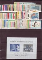 DDR, Fast Kpl. Jahrgang 1963**(K 4804) - DDR